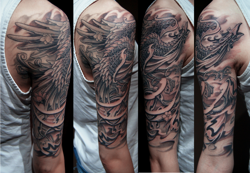 half sleeve tattoos photo - 14