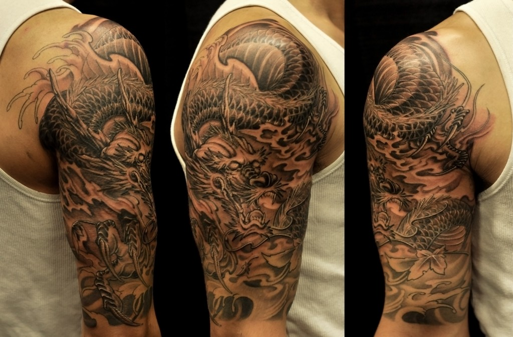 half sleeve tattoos photo - 25