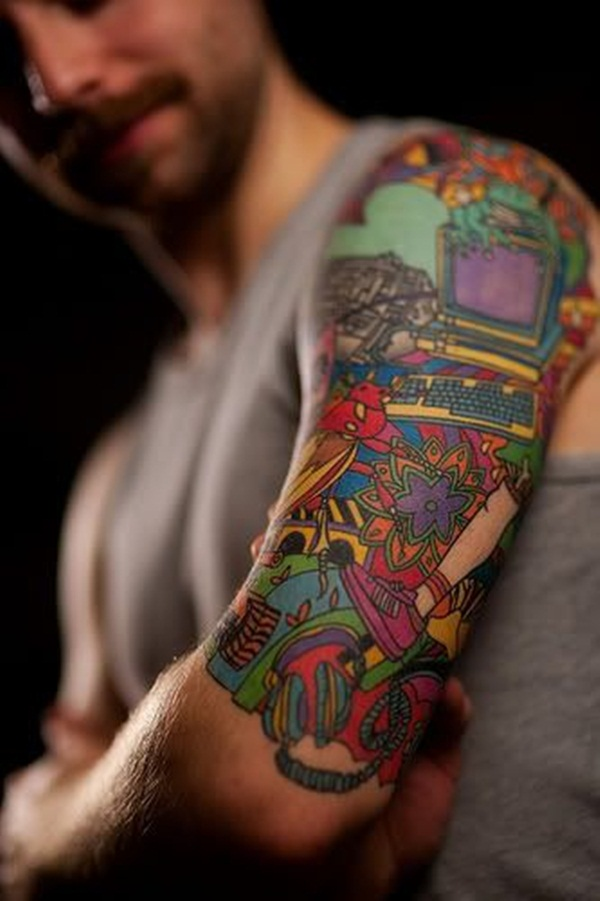 half sleeve tattoos photo - 5