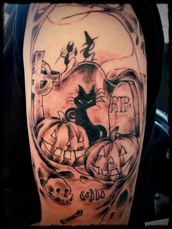 halloween tattoos photo - 1