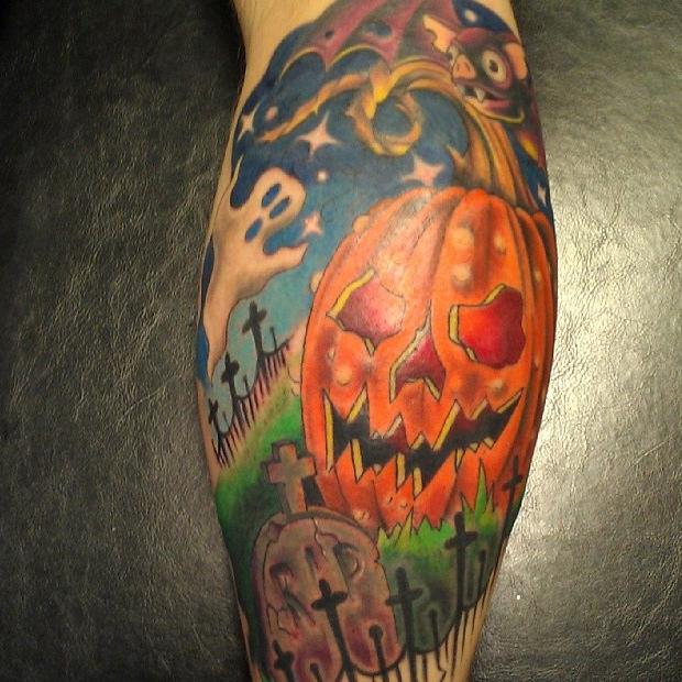 halloween tattoos photo - 10