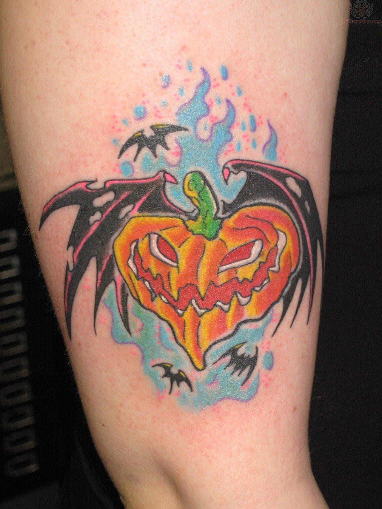 halloween tattoos photo - 11