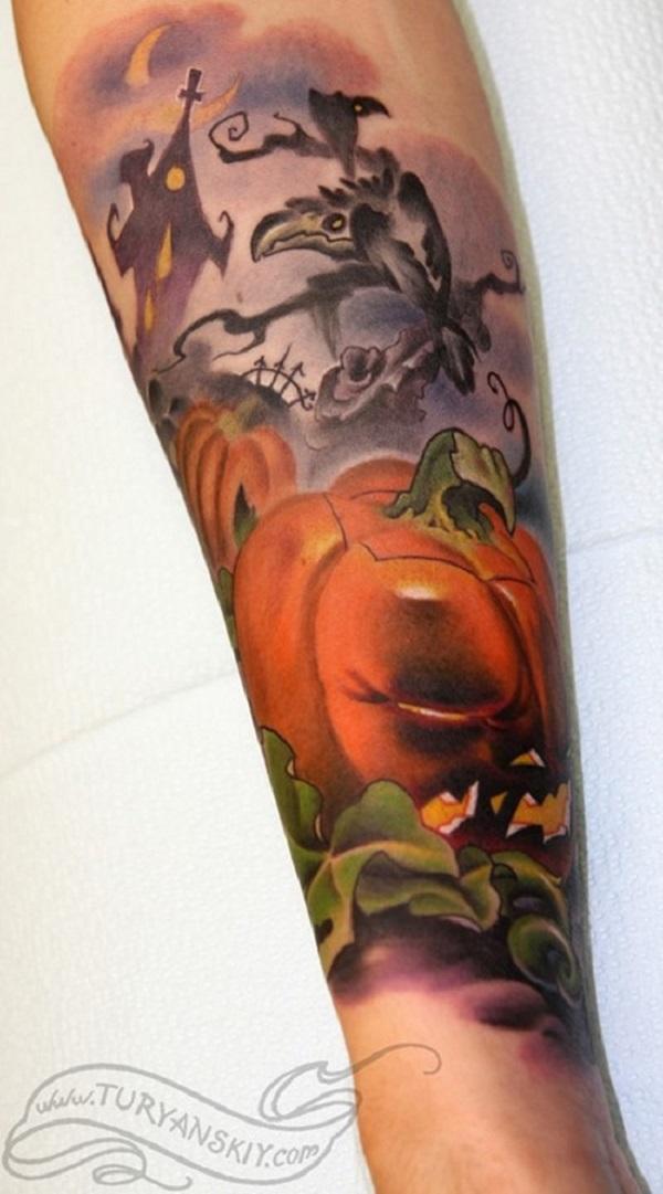halloween tattoos photo - 12