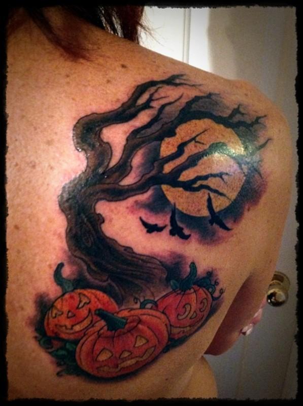 halloween tattoos photo - 13