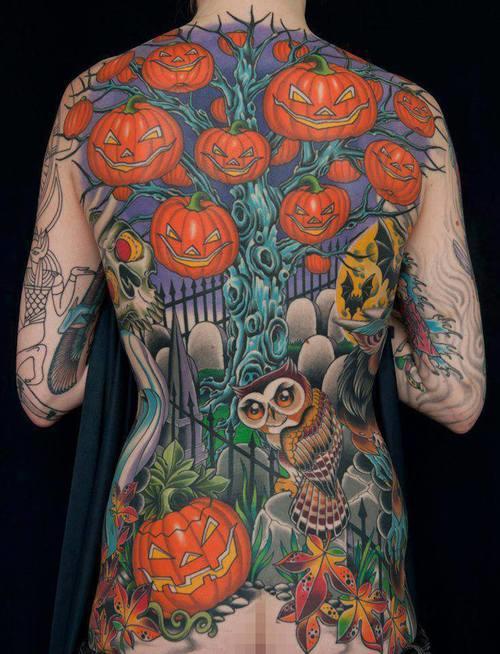 halloween tattoos photo - 14