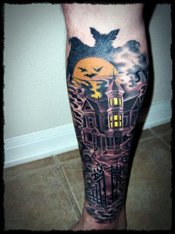 halloween tattoos photo - 15
