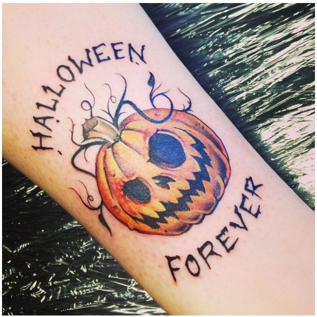 halloween tattoos photo - 17