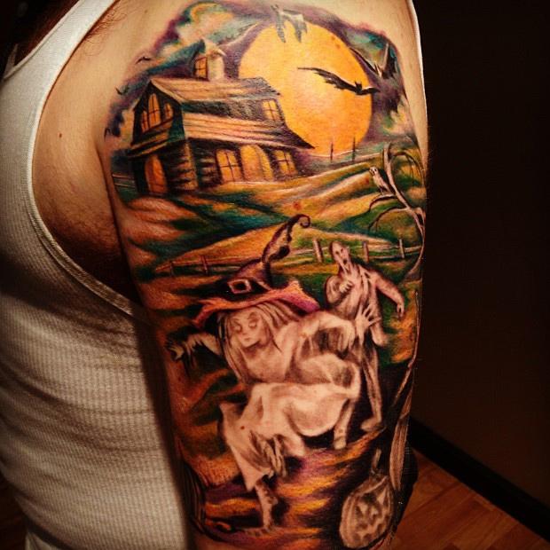 halloween tattoos photo - 18