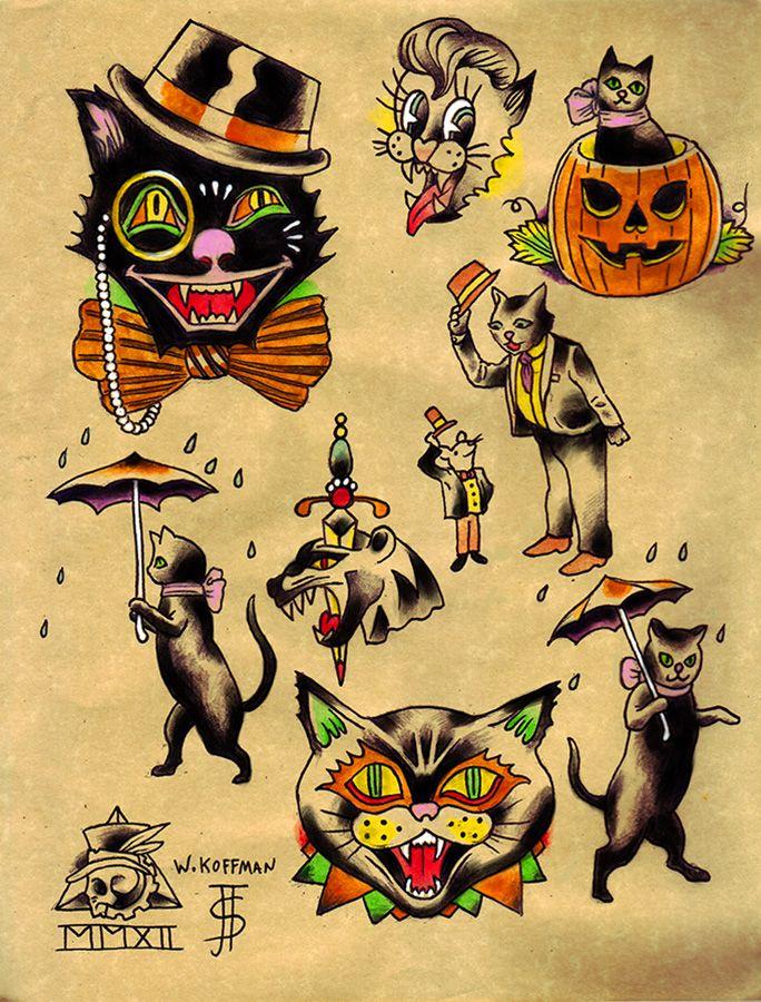 halloween tattoos photo - 22