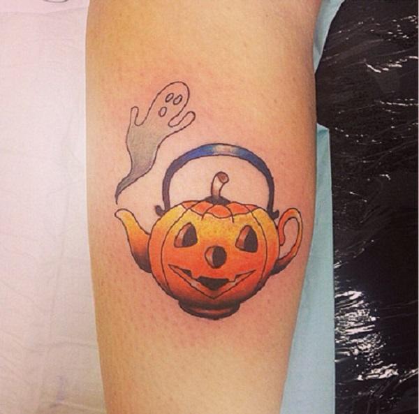 halloween tattoos photo - 23