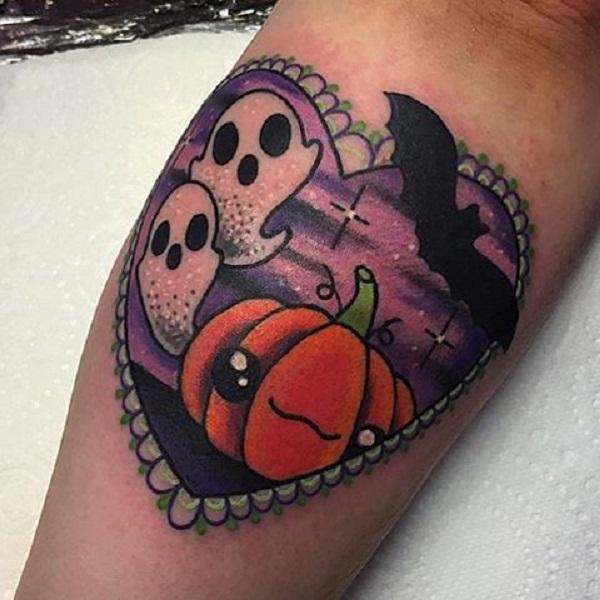 halloween tattoos photo - 24