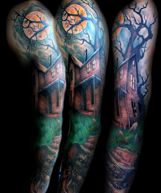 halloween tattoos photo - 4