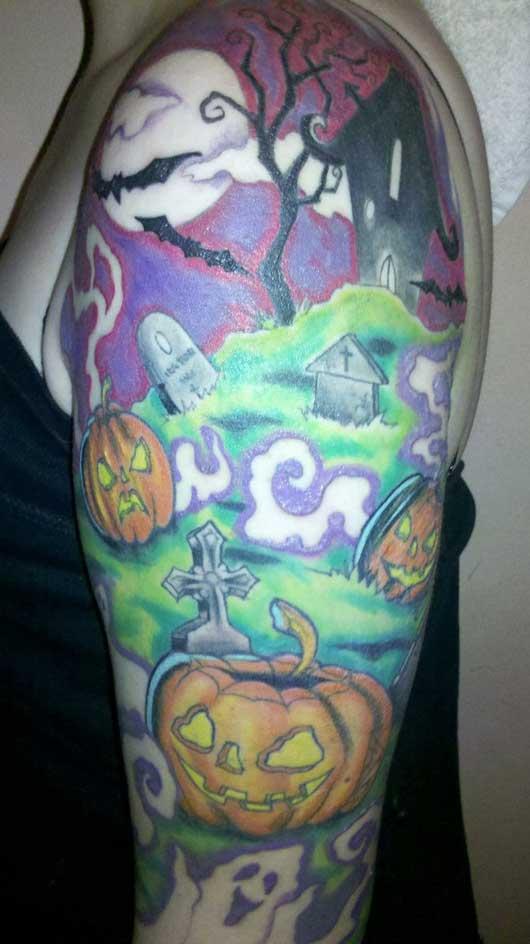 halloween tattoos photo - 5