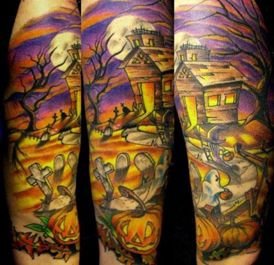 halloween tattoos photo - 6