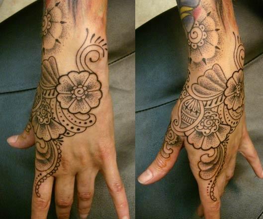 hand tattoos photo - 21