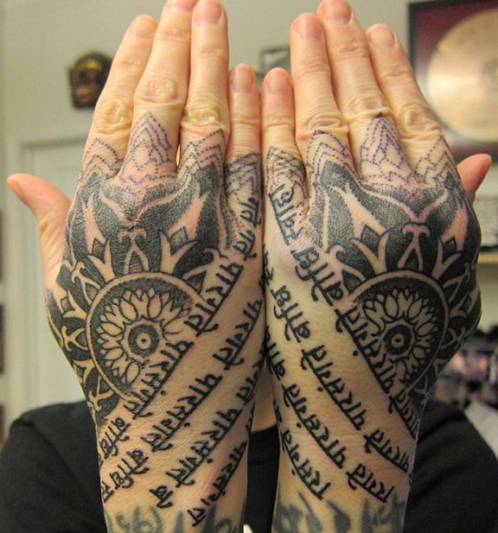 hand tattoos photo - 9