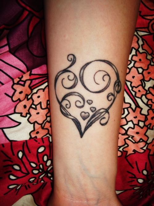 heart tattoos photo - 12