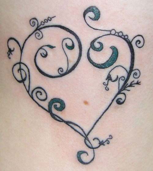heart tattoos photo - 19