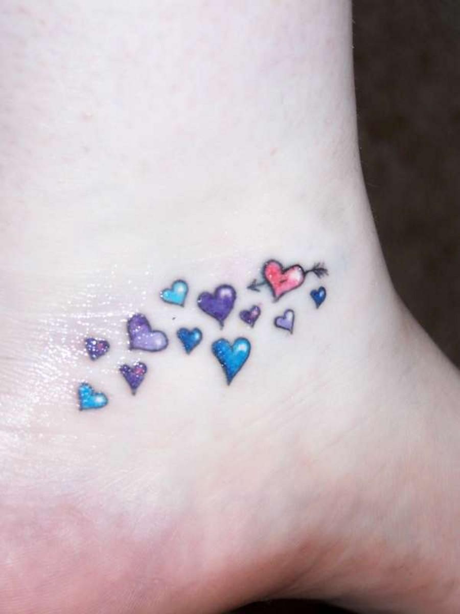 heart tattoos photo - 35