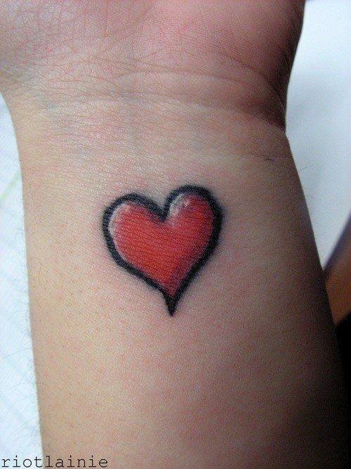 heart tattoos photo - 5