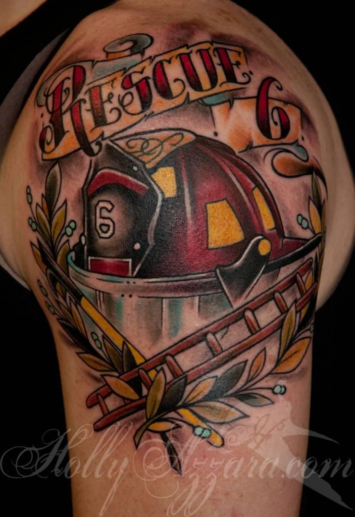 helmet tattoos photo - 17