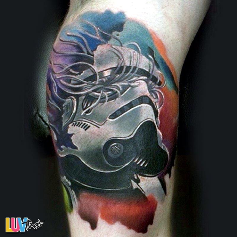 helmet tattoos photo - 19