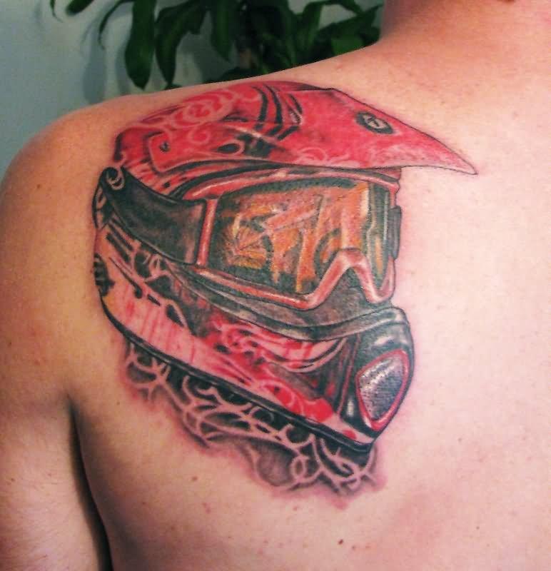 helmet tattoos photo - 20