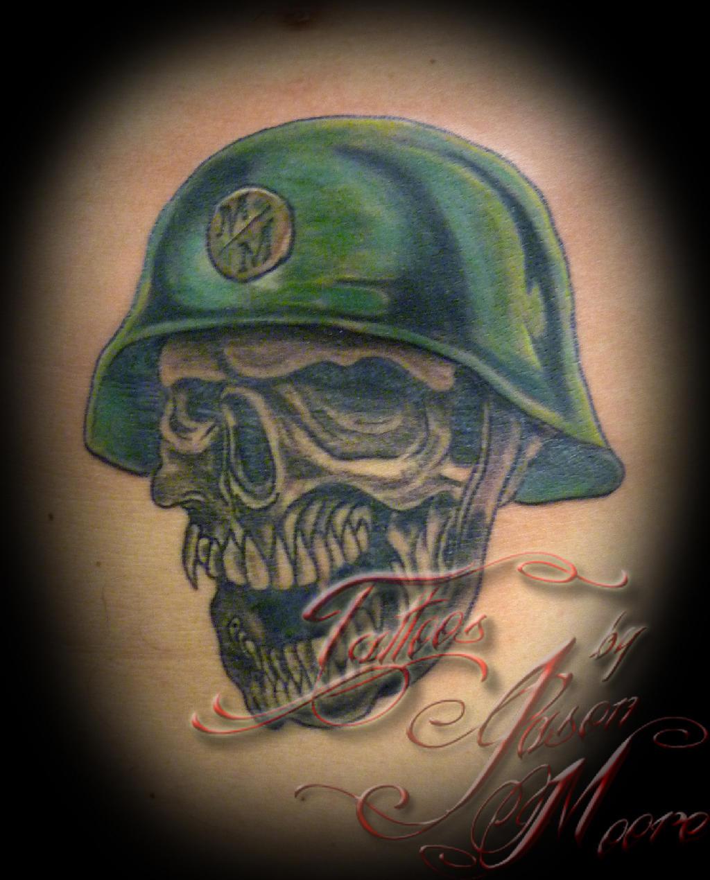 helmet tattoos photo - 23
