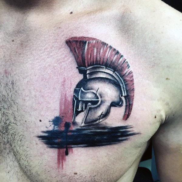 helmet tattoos photo - 28