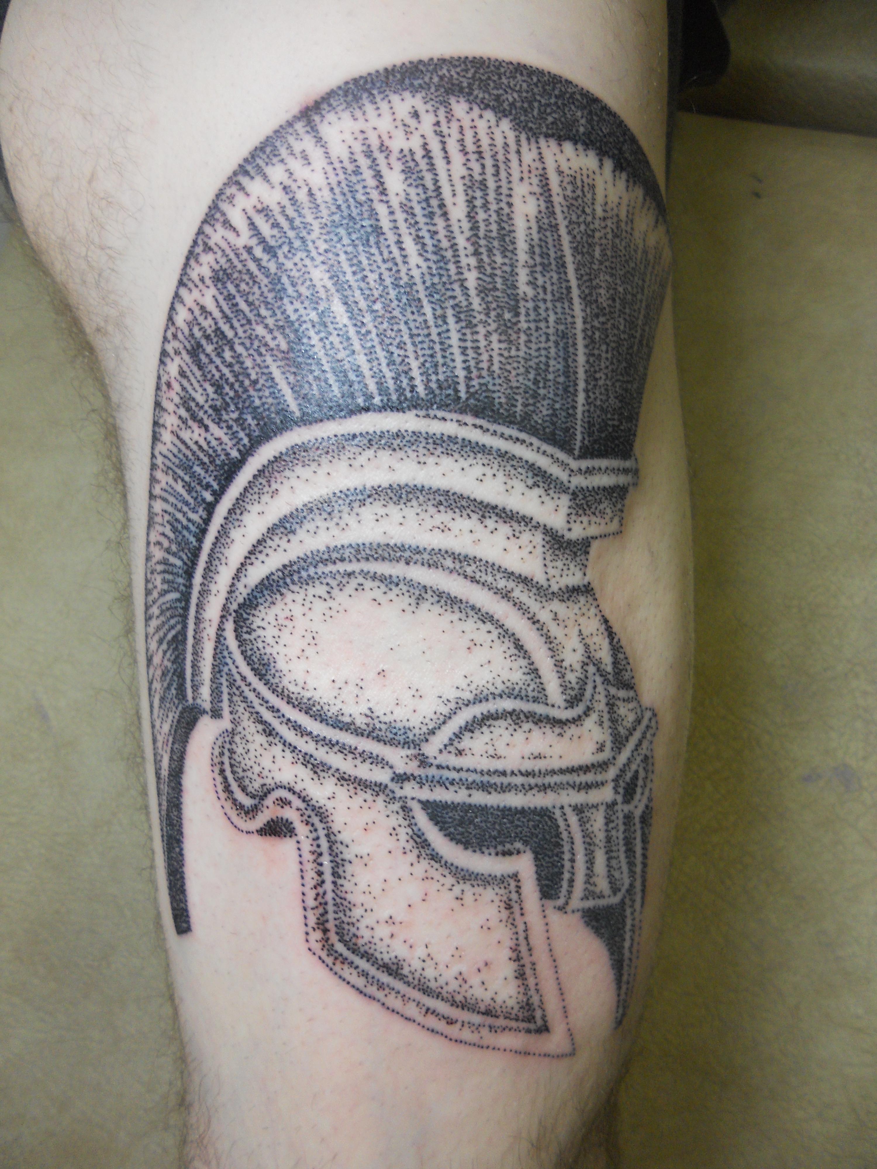 helmet tattoos photo - 32