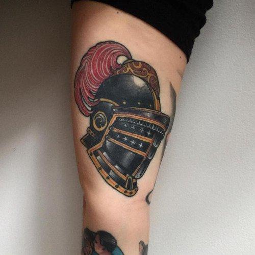 helmet tattoos photo - 34