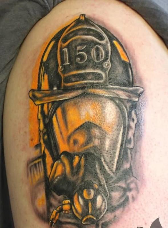 helmet tattoos photo - 36