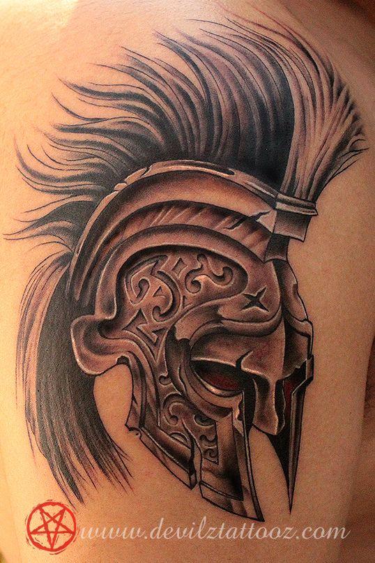 helmet tattoos photo - 37