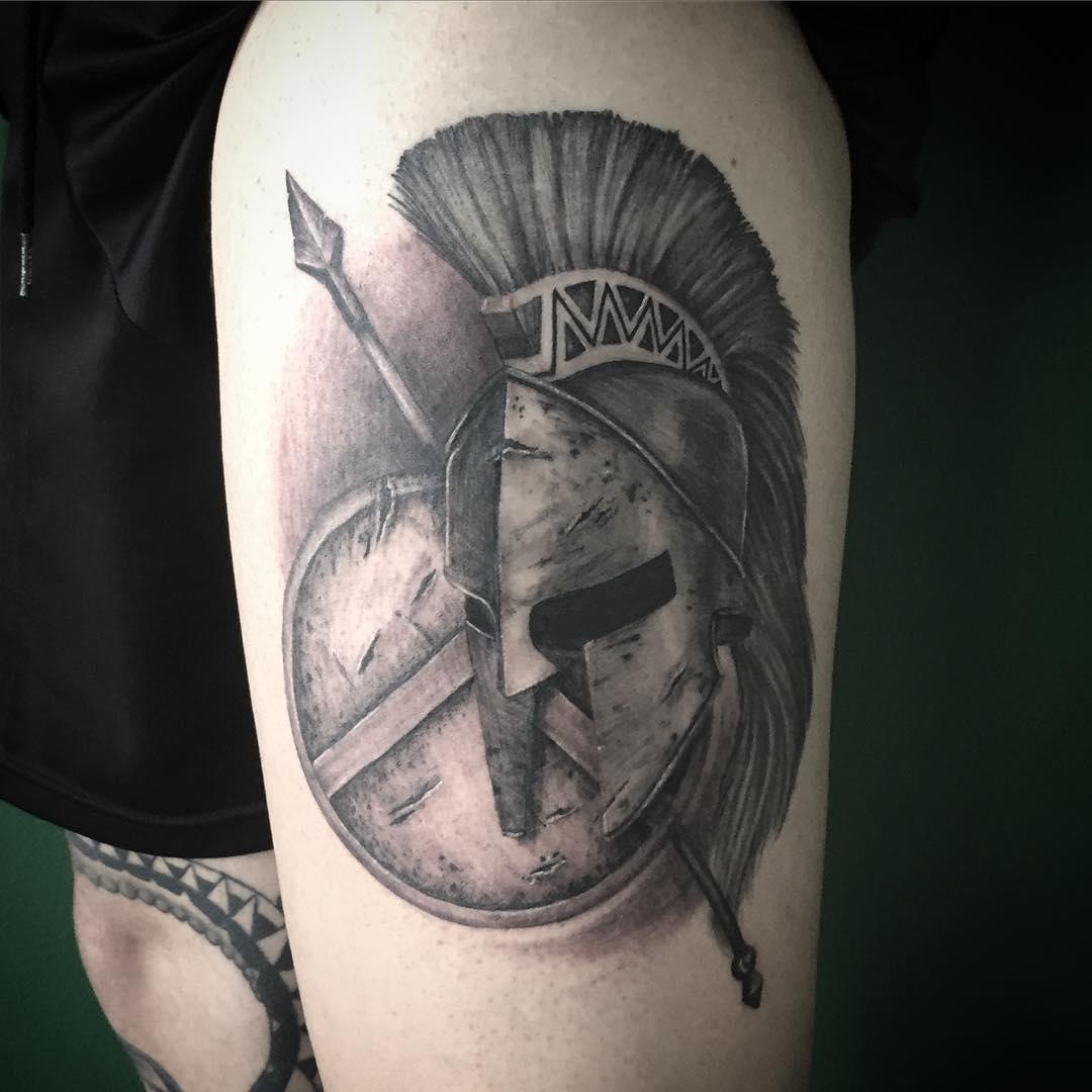 helmet tattoos photo - 6