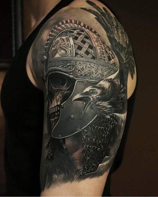 helmet tattoos photo - 7