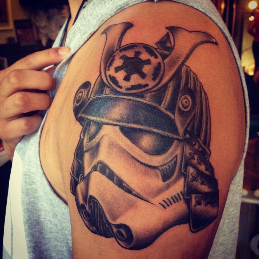 helmet tattoos photo - 8
