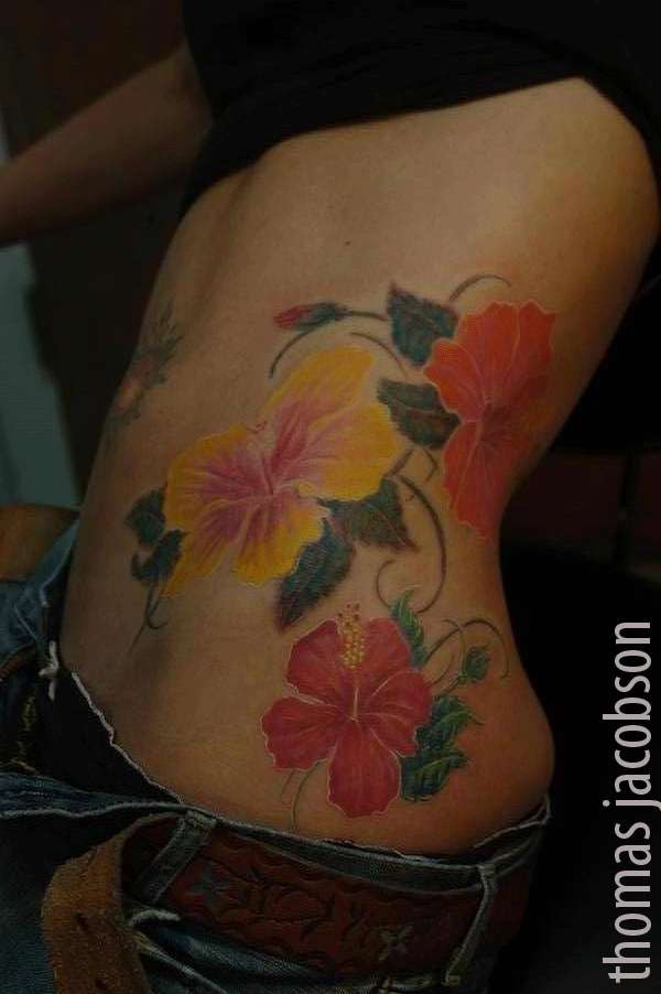 hibiscus tattoos photo - 10