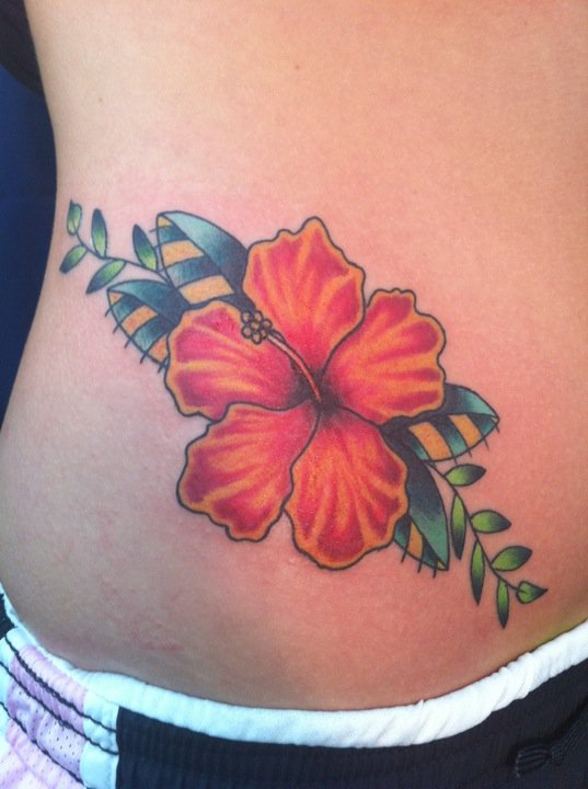 hibiscus tattoos photo - 14
