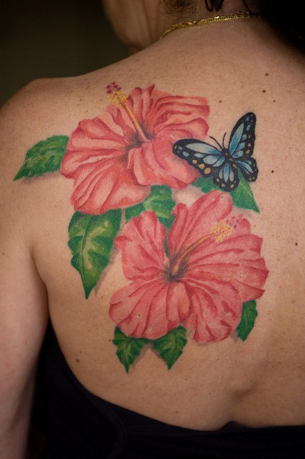 hibiscus tattoos photo - 19