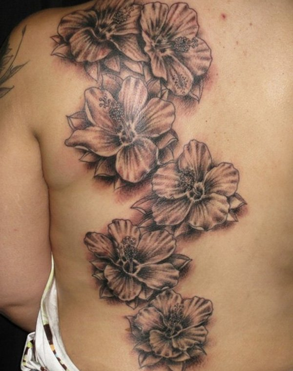 hibiscus tattoos photo - 20