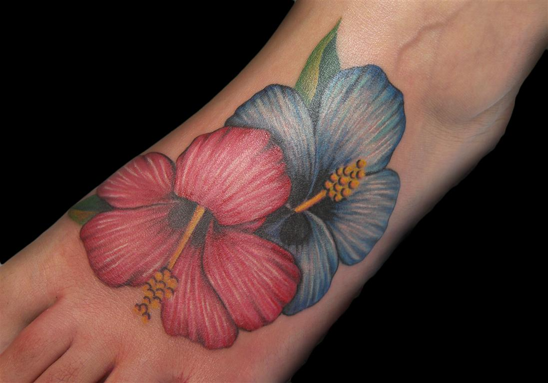 hibiscus tattoos photo - 21