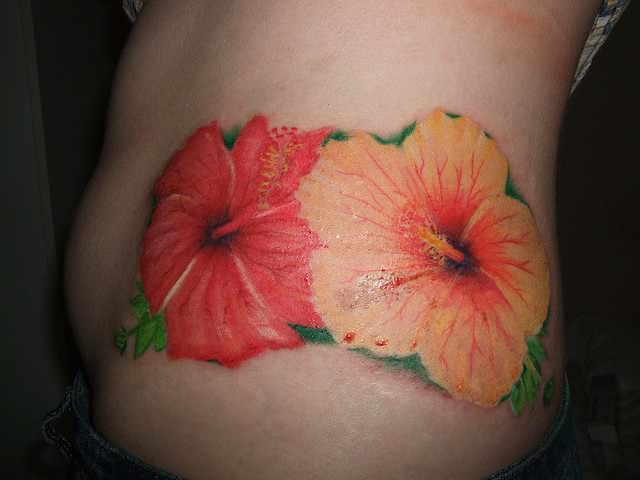 hibiscus tattoos photo - 22