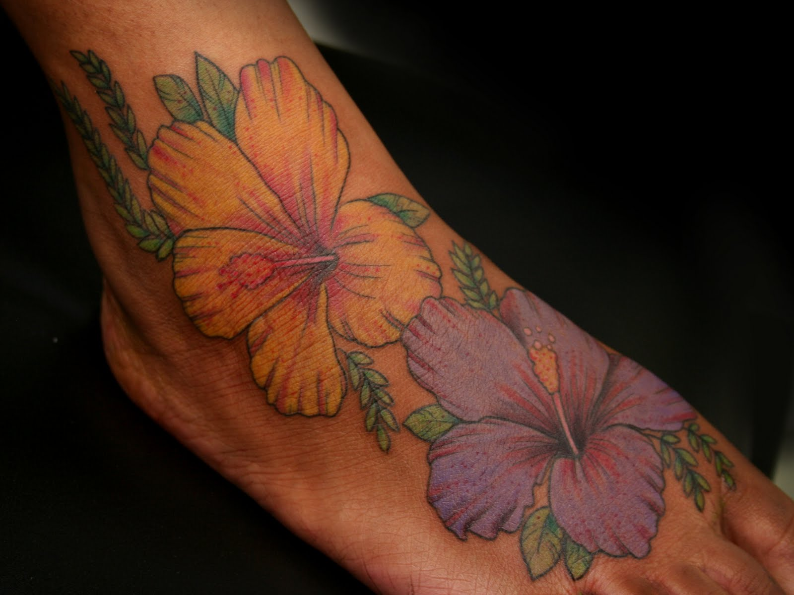 hibiscus tattoos photo - 27