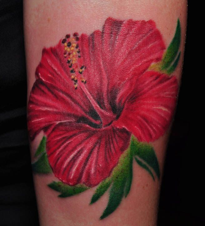 hibiscus tattoos photo - 3