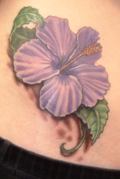 hibiscus tattoos photo - 4