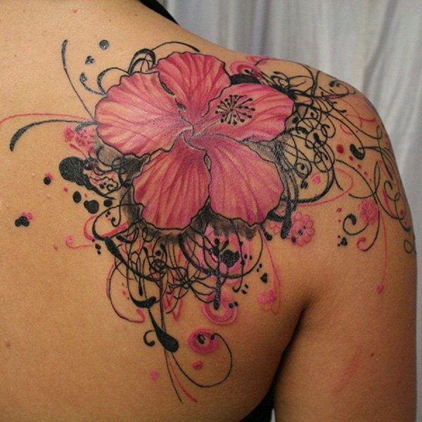hibiscus tattoos photo - 7