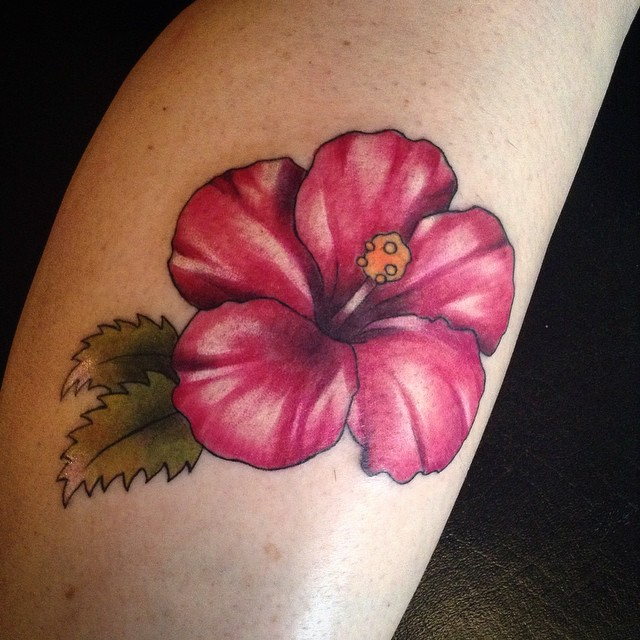 hibiscus tattoos photo - 9