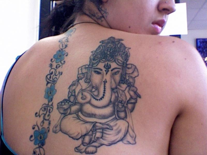 hinduism tattoos photo - 1