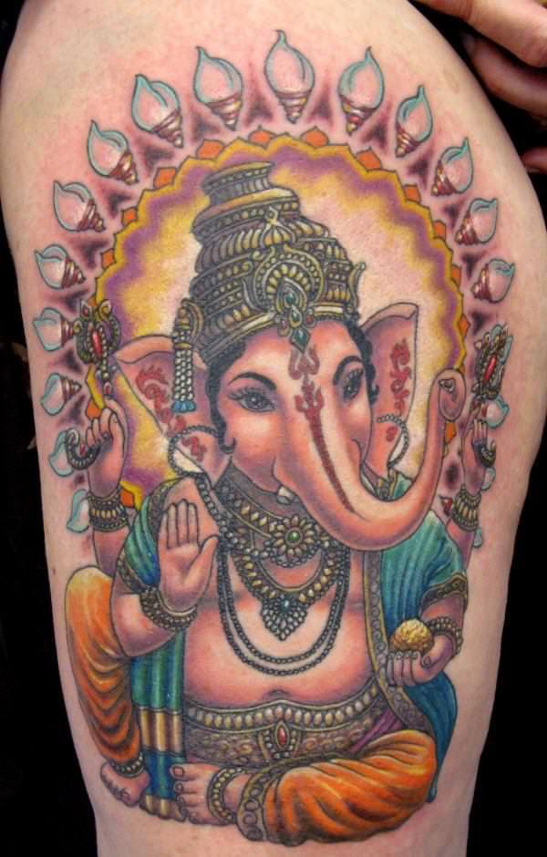 hinduism tattoos photo - 3