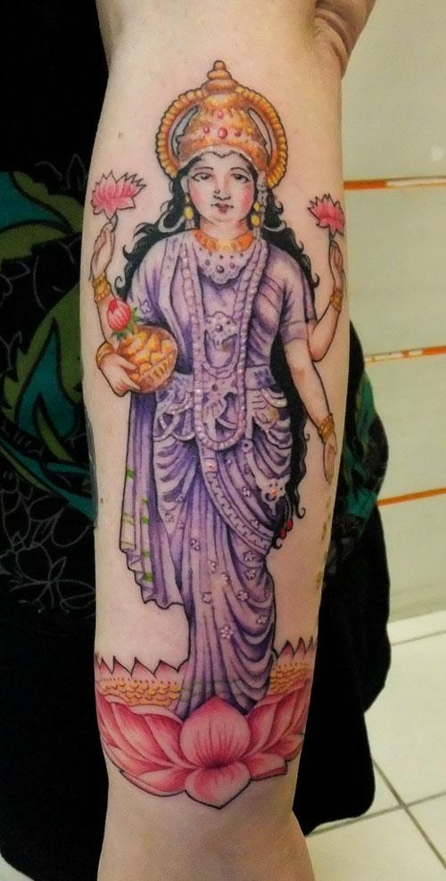 hinduism tattoos photo - 30